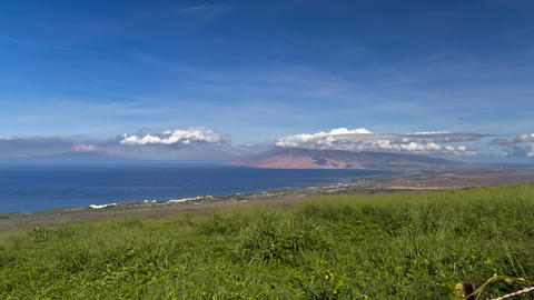 Sea View At Maui, Timelapse, Hawaii, United States stock footage