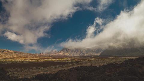 Timelapse, Teide, Tenerife Filmmaterial