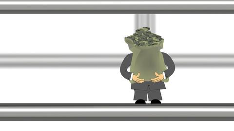Pipeline Business Cartoon Stock Video Footage