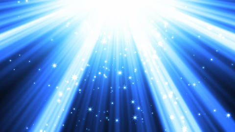 Blue Light Rays Background Animation