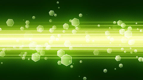 Green Technology Background Animation