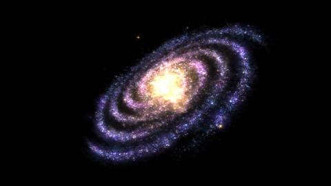 Rotating Galaxy - Loop Animation