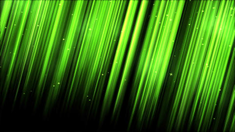Light Rays - Loop Green Animation