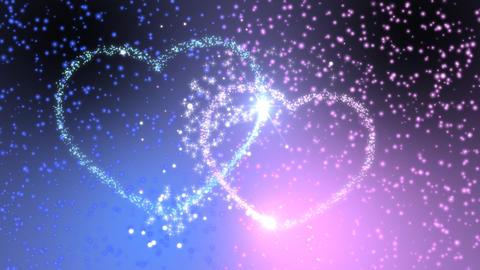 Heart couple 01 Animation