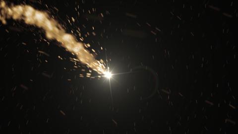 Meteorite stock footage