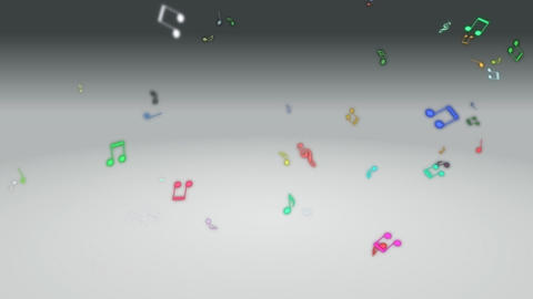 Fall musicalnote Rainbow Animation