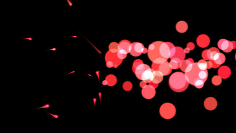 Abstract Paint Animation Red Stock Video Footage