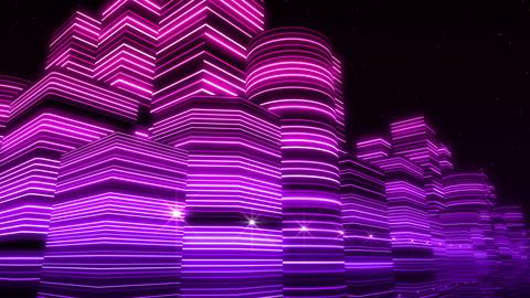 Neon Light City F 3 Ba 3 HD Animation