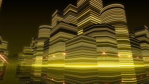 Neon Light City R 1 Ba 3 HD Animation