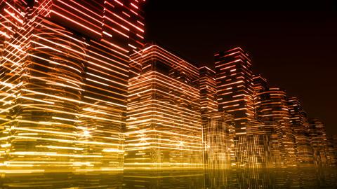 Neon Light City N 1 Aa 3 4k Animation