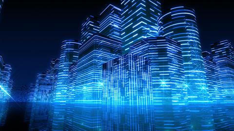 Neon Light City R 1 Aa 3 4k Animation