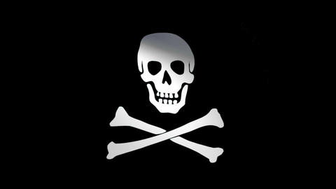 Flag Jolly Roger Animation