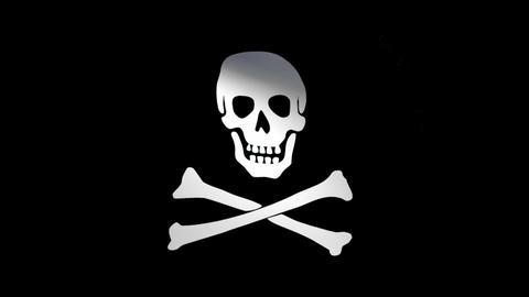 Flag Jolly Roger CG動画
