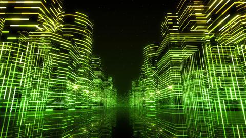 Neon Light City F 1 Aa 3 HD Animation