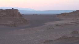 Desert scene, group of friends, Iran Footage