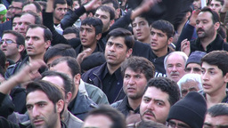 Ashura procession in Iran Footage
