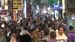 Busy Tehran bazaar Footage