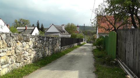 Old Village in Hungary 1 handheld Acción en vivo