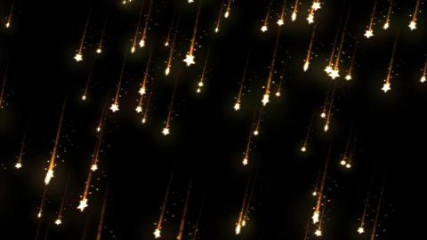 Falling Stars - Loop Orange Animation