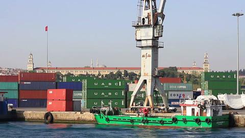 Haydarpasa Seaport Footage