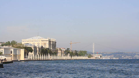 Dolmabahce Palace Footage