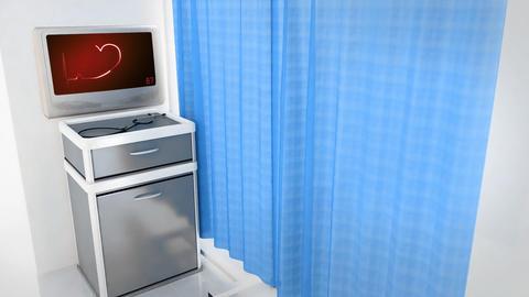 Red Heart EKG Monitor Love In Screen 0