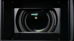 Camera Zoom Lens Footage