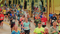 3K Pittsburgh Marathon Runners Archivo