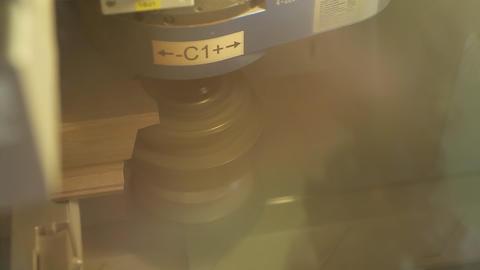 Wood profile cutter, cnc cutter Live Action