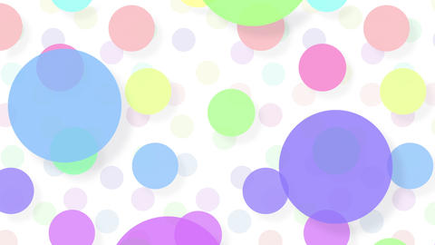 Simple background Circle L color 4k Stock Video Footage