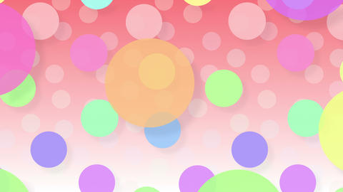 Simple background Circle L 2 color 4k Animation