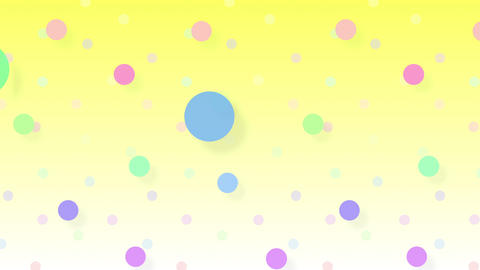 Simple background Circle S 2 color 4k Animation