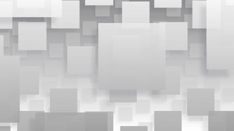 Simple background Square L BW 4k CG動画