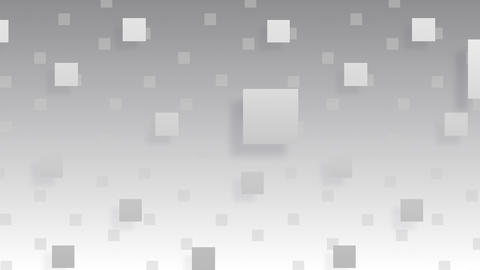 Simple background Square S BW 4k Animation