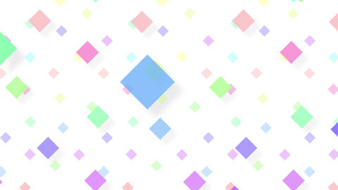 Simple background Diamond S color 4k Animation