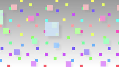 Simple background Square S 2 color 4k Animation