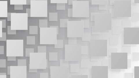 Simple background Square L 2 BW 4k Animation