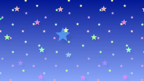 Simple background Star S 2 color 4k Animation