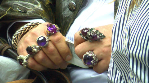 Jewelry On Hand Footage