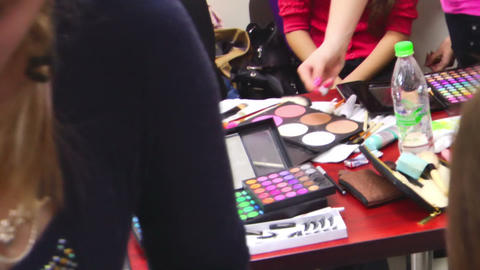 Make Up Models Footage