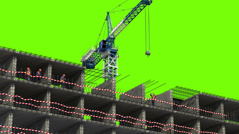 Building Area stock footage