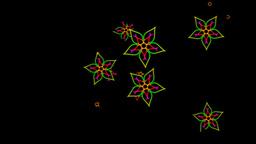 Colorful Flowers Background Animation Animation