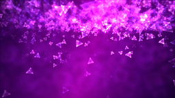 Abstract Triangle Background Animation - Loop Purp Animation