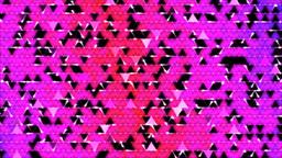 Colorful Triangle Background Mosaic Animation - Pu Animation