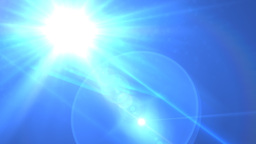 Lens Flare Transition Wipe bright blue alpha 1 Animation