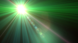 Lens Flare Transition Wipe green alpha 1 Animation