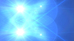 Lens Flare Transition Wipe bright blue alpha 4 Animation