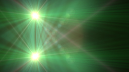 Lens Flare Transition Wipe green alpha 4 Animation