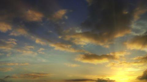 Sunrise Time Lapse Animation