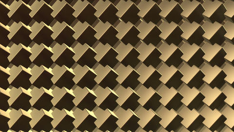 Gold Background 01 HD Animation